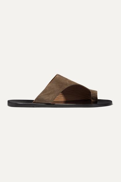 Atp Atelier Sandals Rosa cutout suede sandals