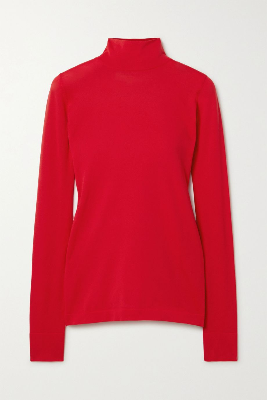 Les Rêveries Stretch-knit turtleneck top