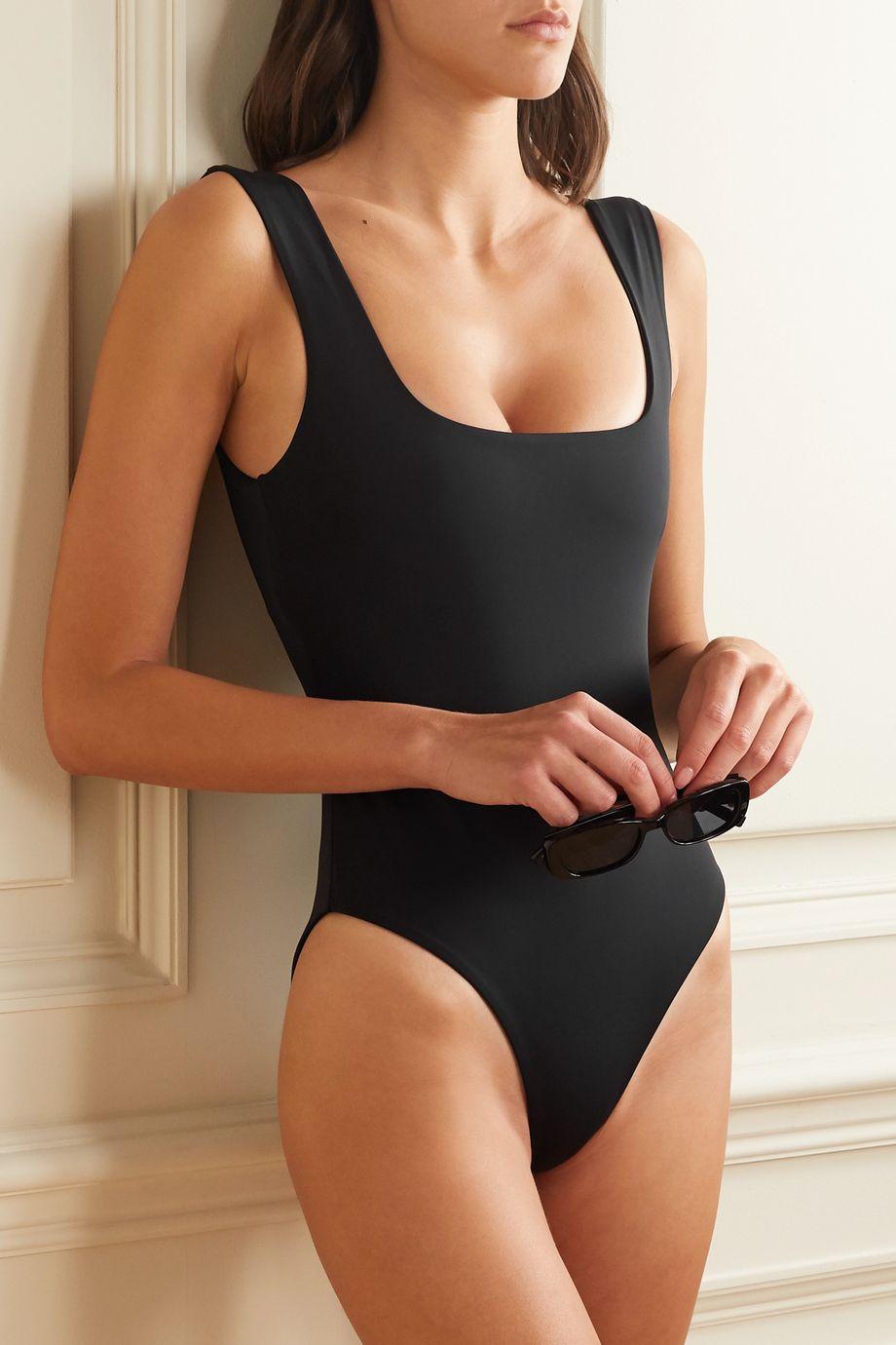 Mara Hoffman + NET SUSTAIN Persephone swimsuit