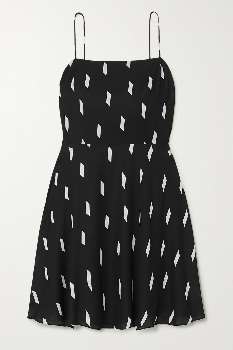 Alice + Olivia | Glinda printed crepe mini dress | NET-A-PORTER.COM