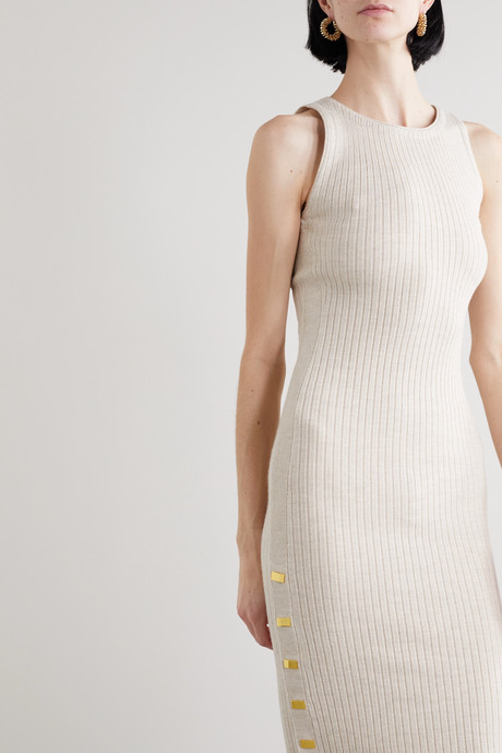 Jenner wool-blend midi dress