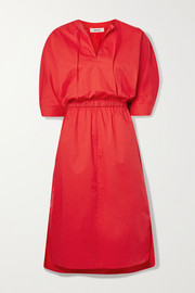 Jason Wu Stretch-cotton poplin midi dress