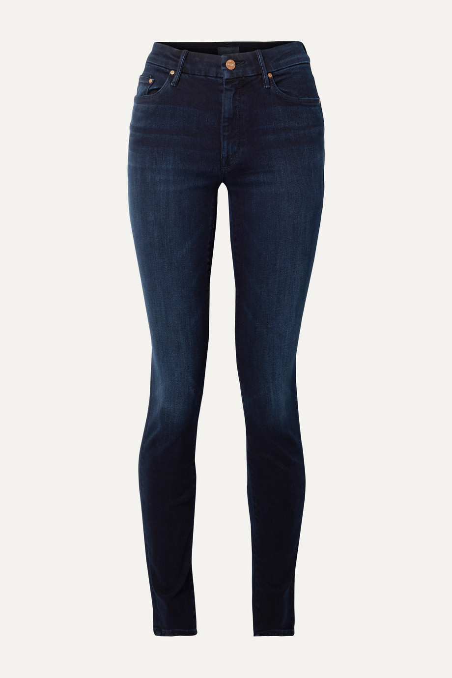 Mother The Super Looker mid-rise skinny jeans