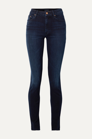 Mother Jeans The Super Looker mid-rise skinny jeans