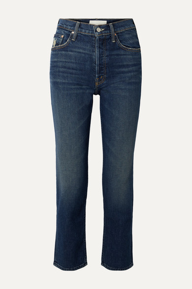 The Tomcat Ankle high-rise straight-leg jeans