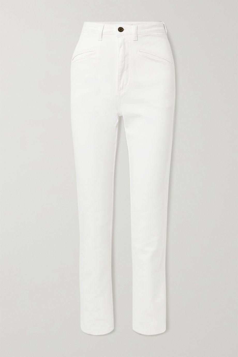 Philosophy di Lorenzo Serafini Mid-rise straight-leg jeans
