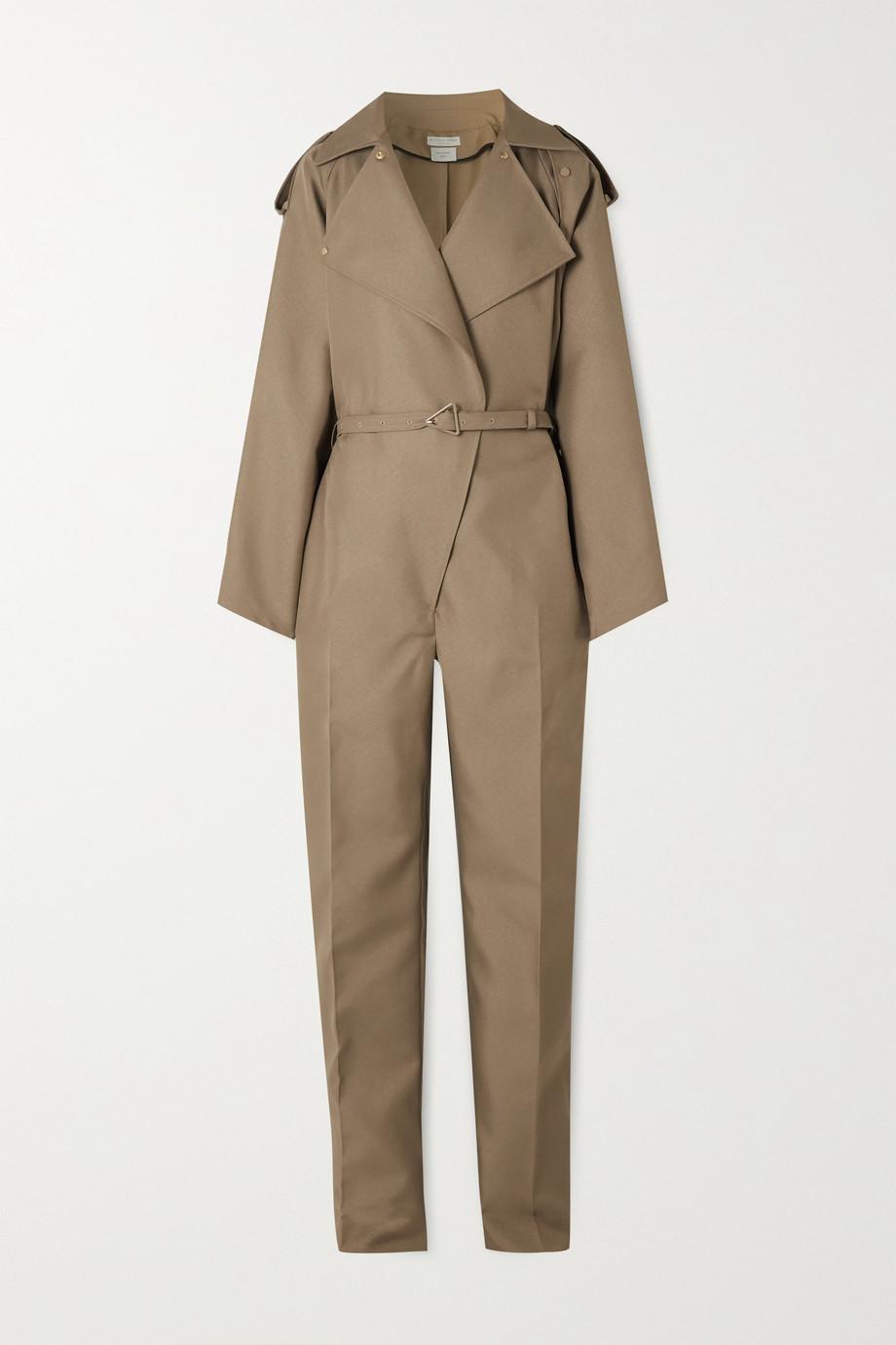 Bottega Veneta Combi-pantalon en coutil à ceinture