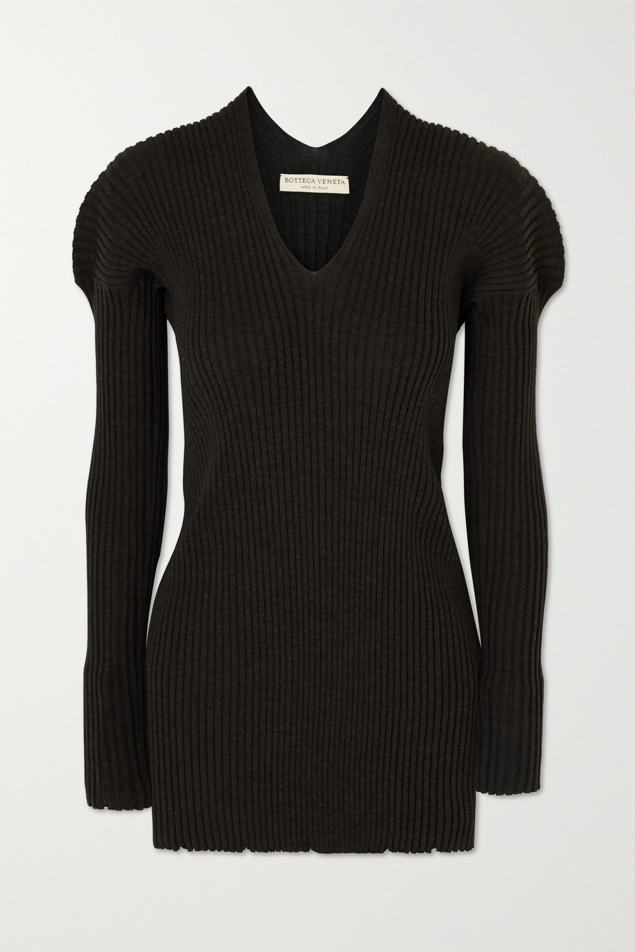 Bottega Veneta Ribbed wool sweater