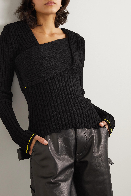 Bottega Veneta Ribbed cotton-blend sweater