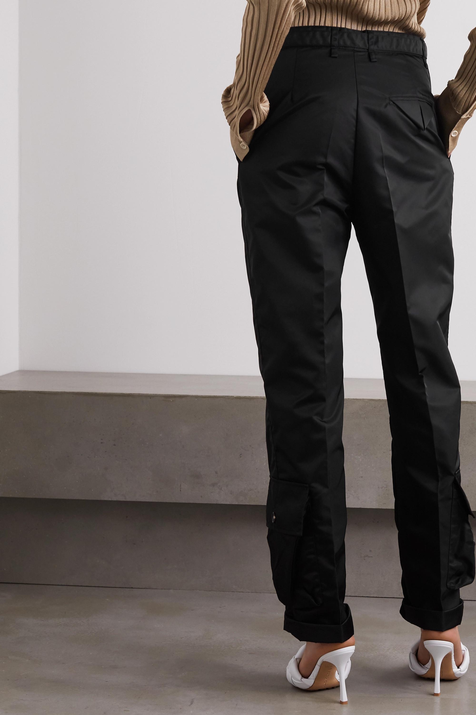 Bottega Veneta Satin-gabardine straight-leg cargo pants