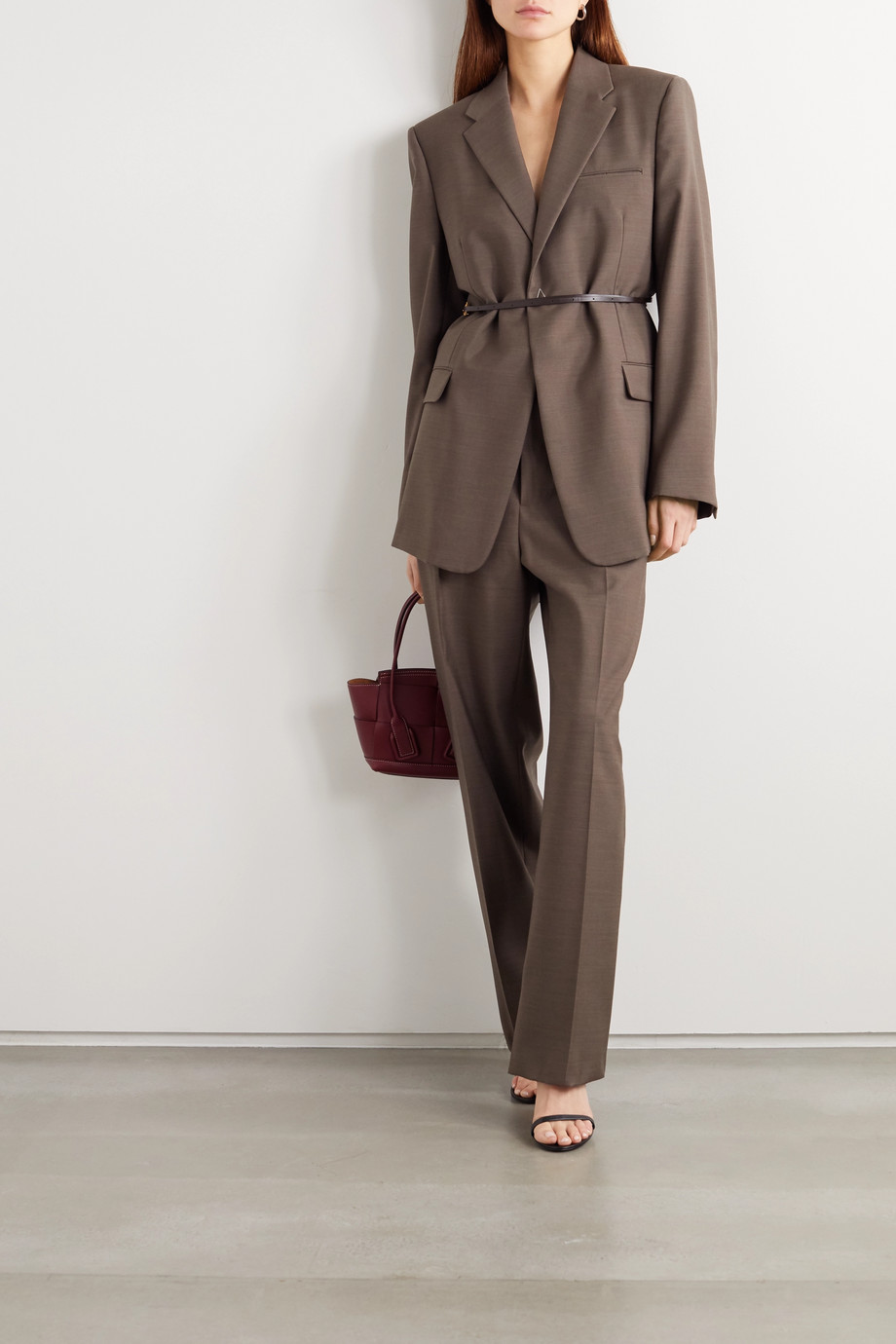 Bottega Veneta Wool wide-leg pants