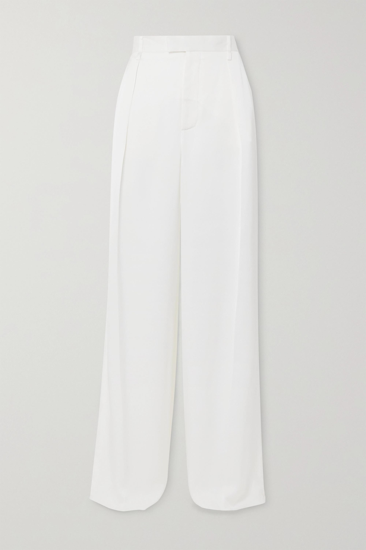 Bottega Veneta Silk-satin pants