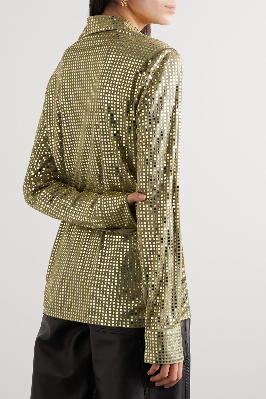 Bottega Veneta Chemise en jersey satiné à sequins