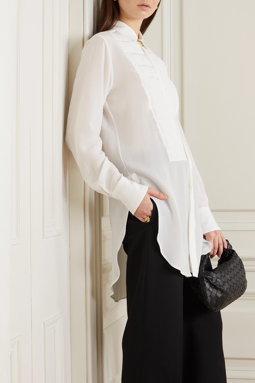 Bottega Veneta 绗缝真丝双绉衬衫