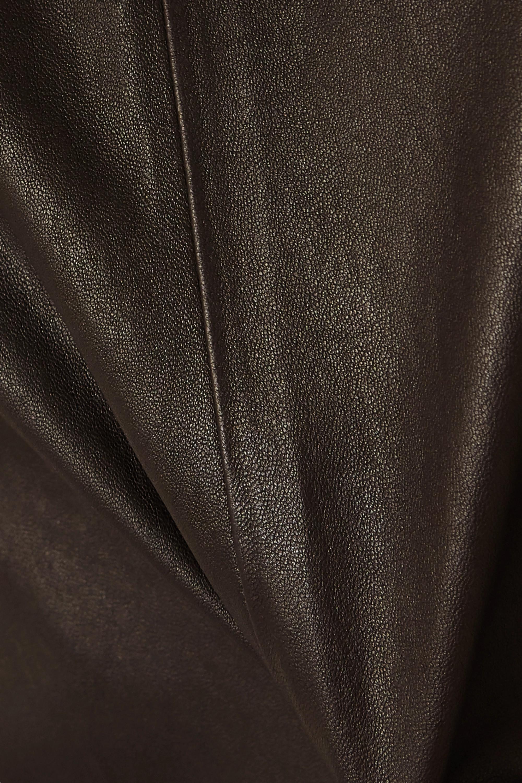 Bottega Veneta Oberteil aus Leder