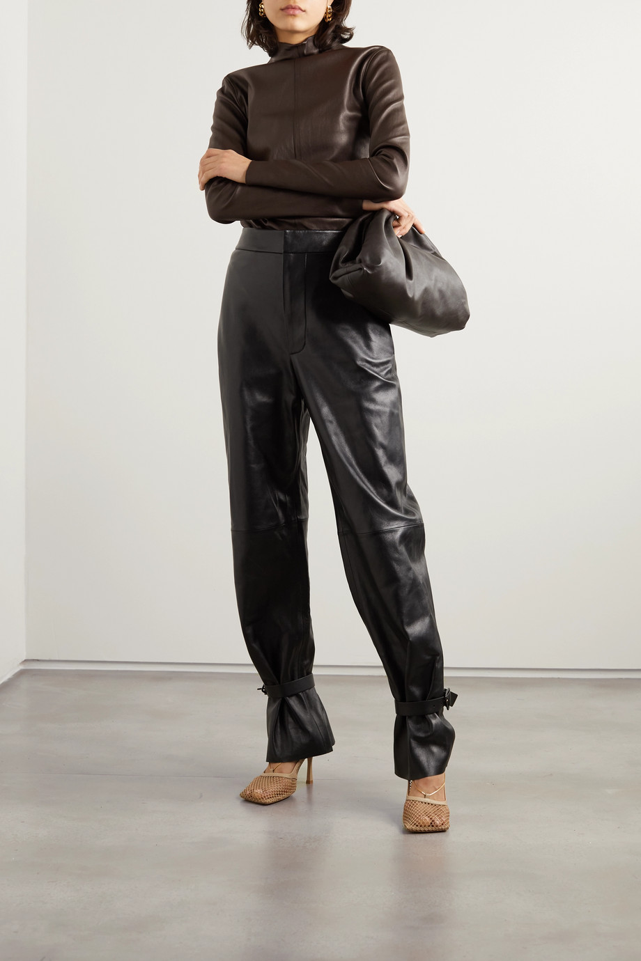 Bottega Veneta Leather top