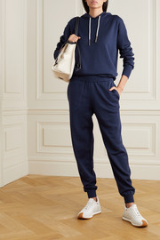 Olivia von Halle Gia Paris silk and cashmere-blend hoodie and track pants set