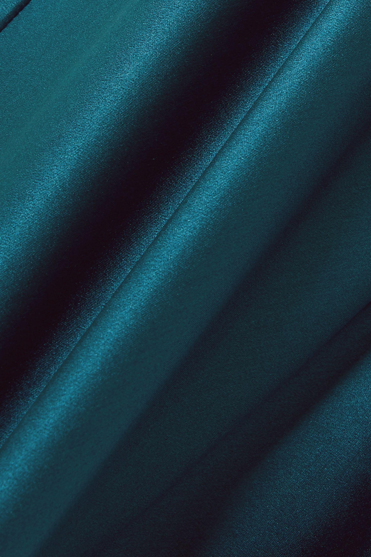 Azure Bella Silk-satin Pajama Set | Olivia Von Halle