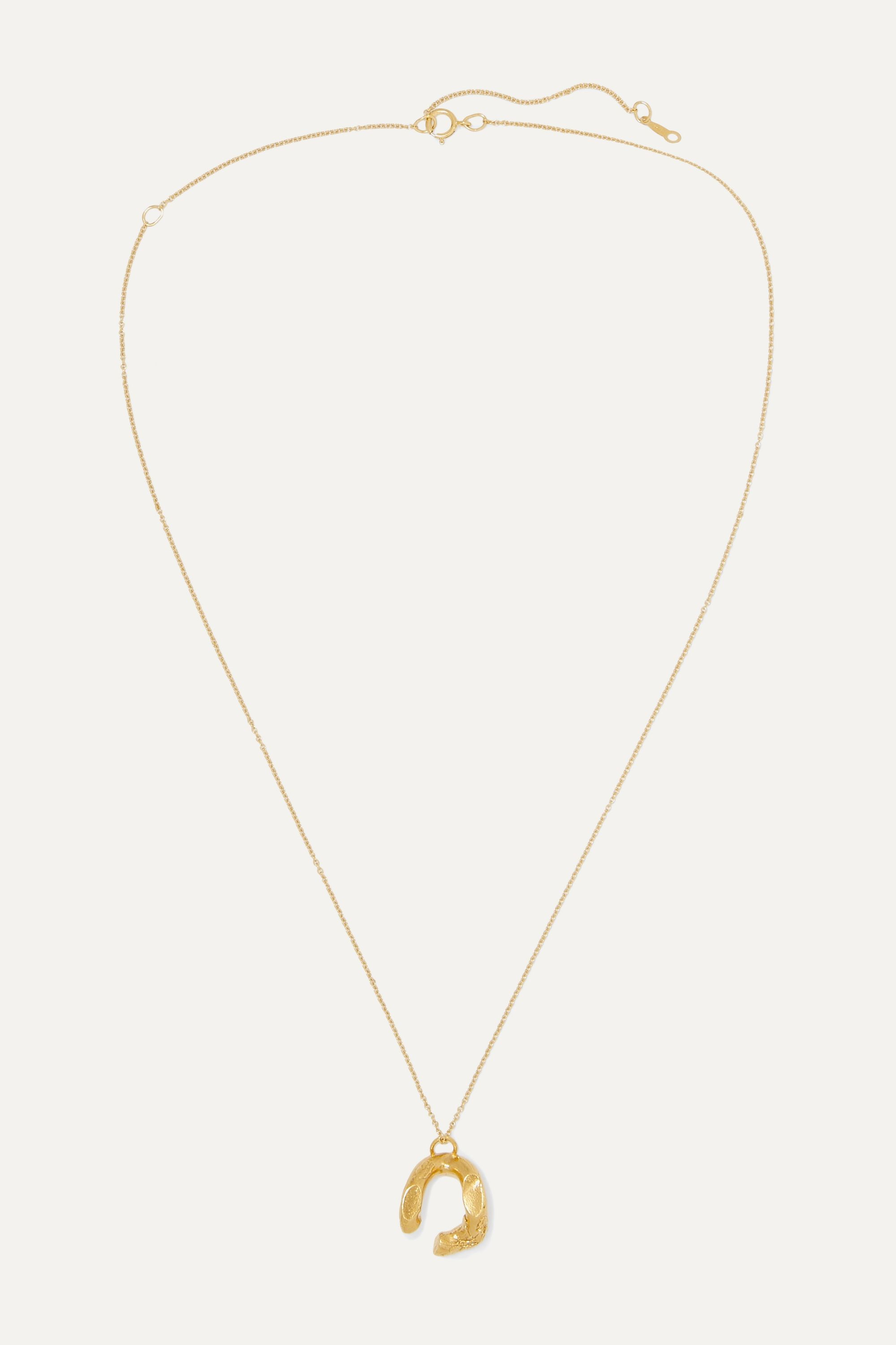 Alighieri The Flashback gold-plated necklace