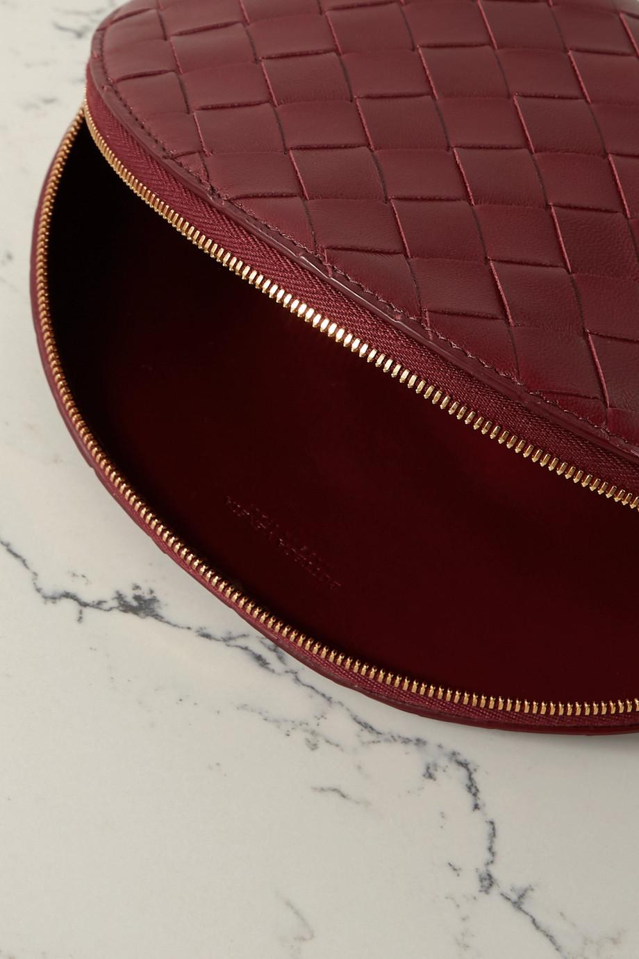 Bottega Veneta Kosmetiktasche aus Intrecciato-Leder