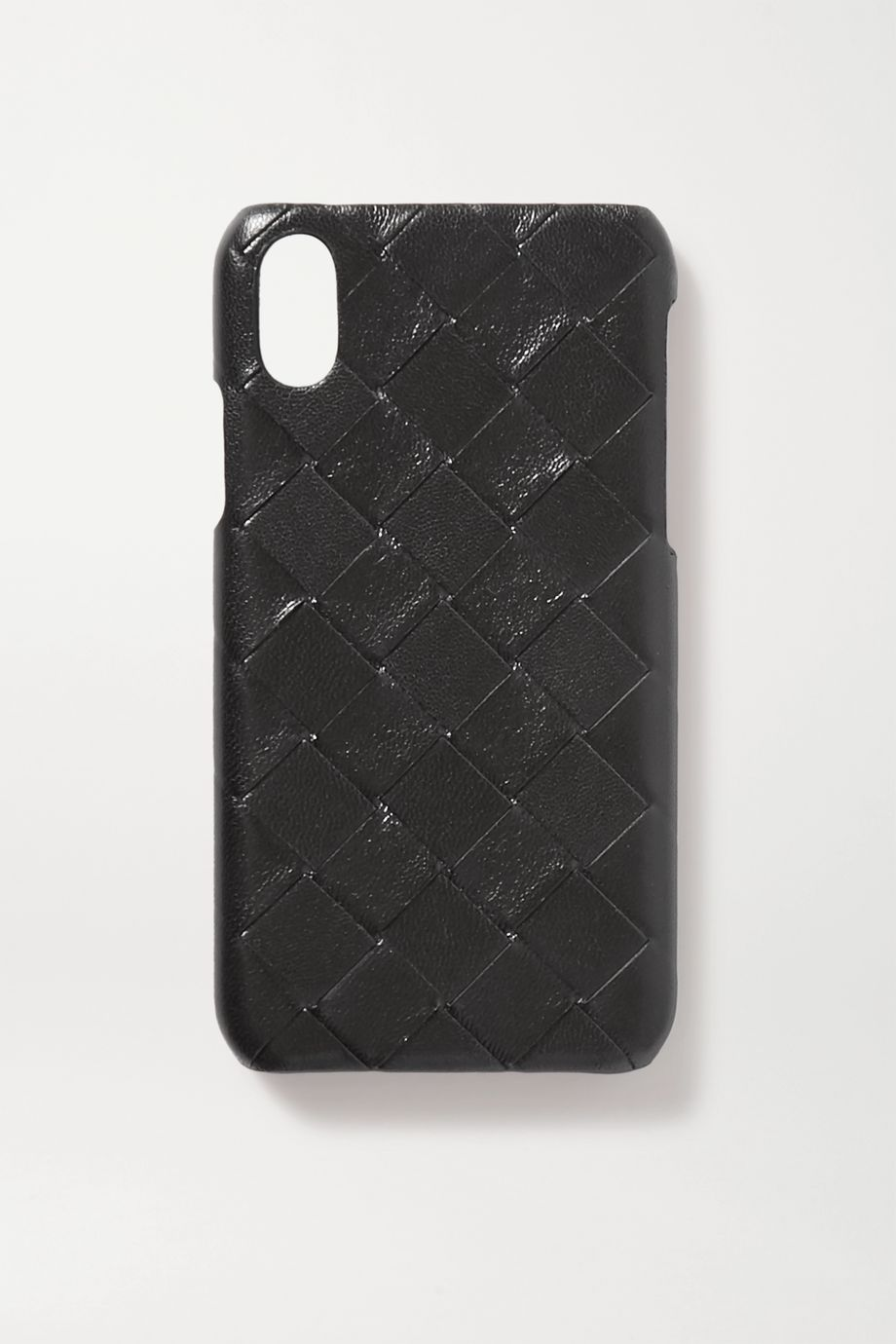 Bottega Veneta Intrecciato leather iPhone X and XS case