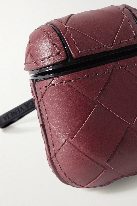 Bottega Veneta Intrecciato leather AirPods case