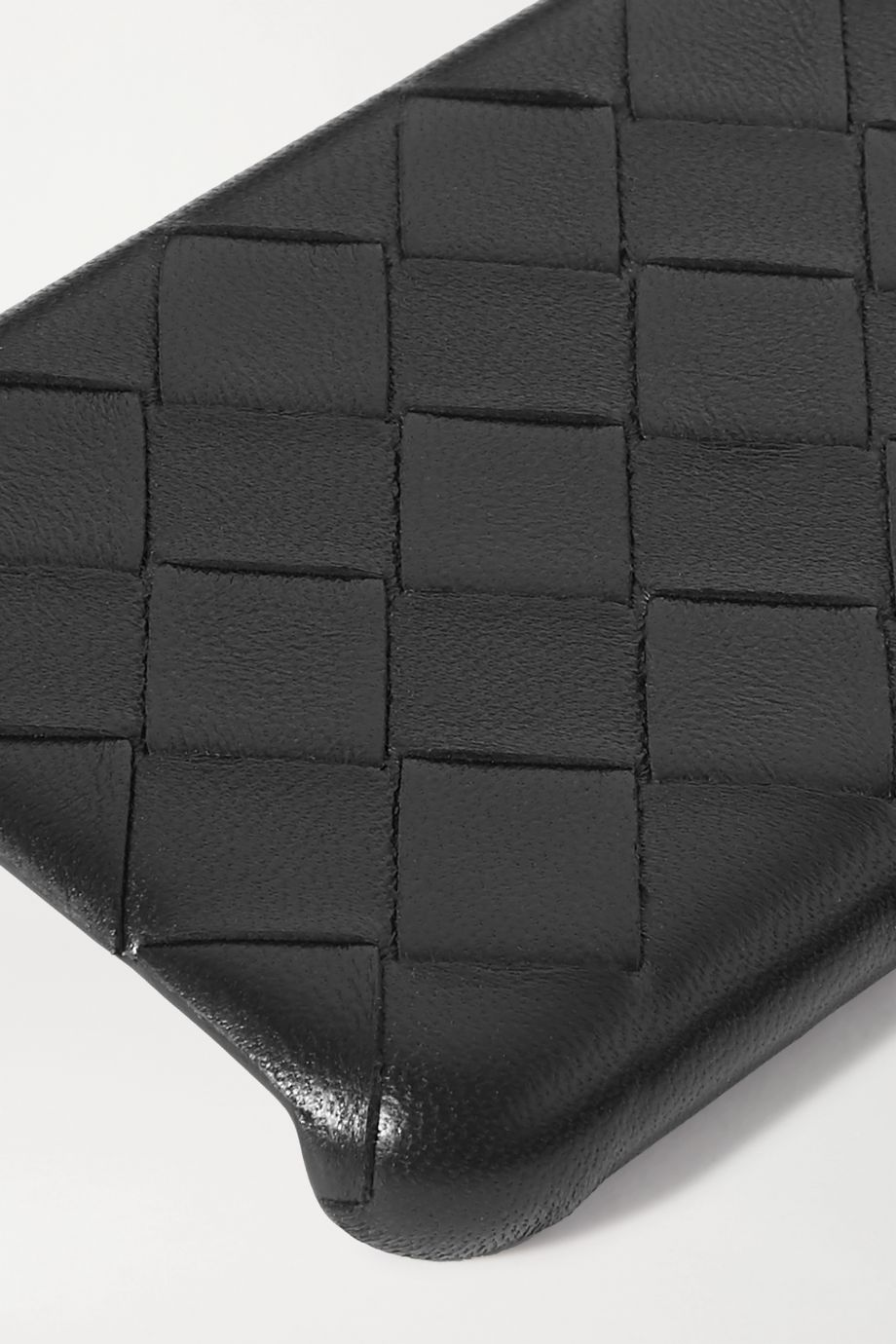 Bottega Veneta Intrecciato textured-leather iPhone 11 Pro case