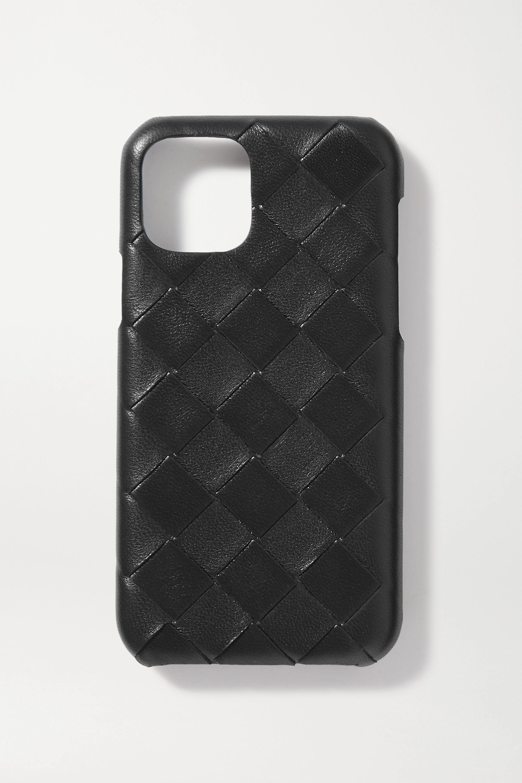 Bottega Veneta Intrecciato textured-leather iPhone 11 Pro case
