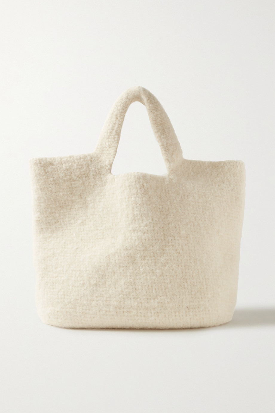 Lauren Manoogian Oval cotton, alpaca and wool-blend tote