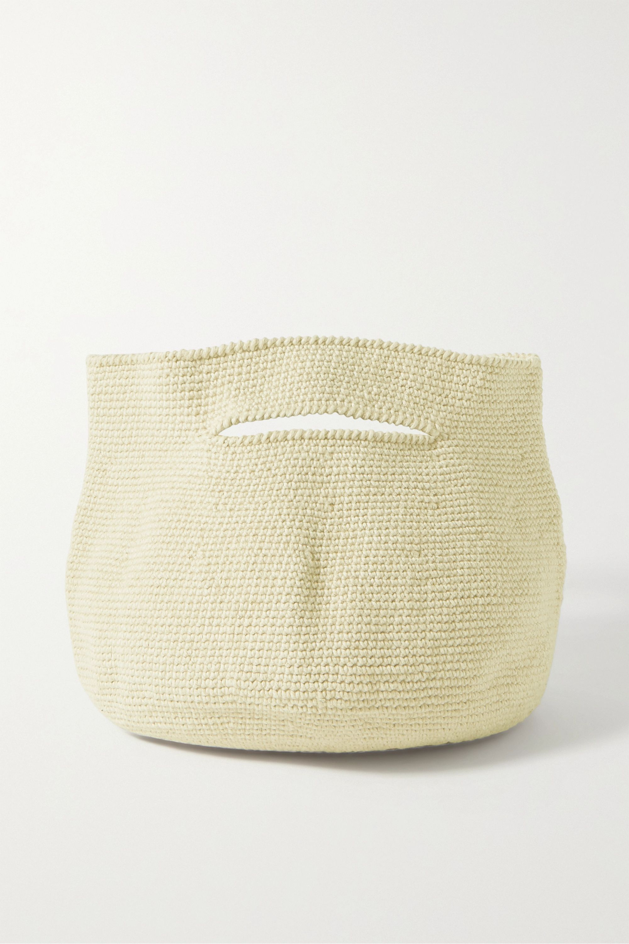 Lauren Manoogian Soft Baby Bowl Pima cotton and linen-blend tote