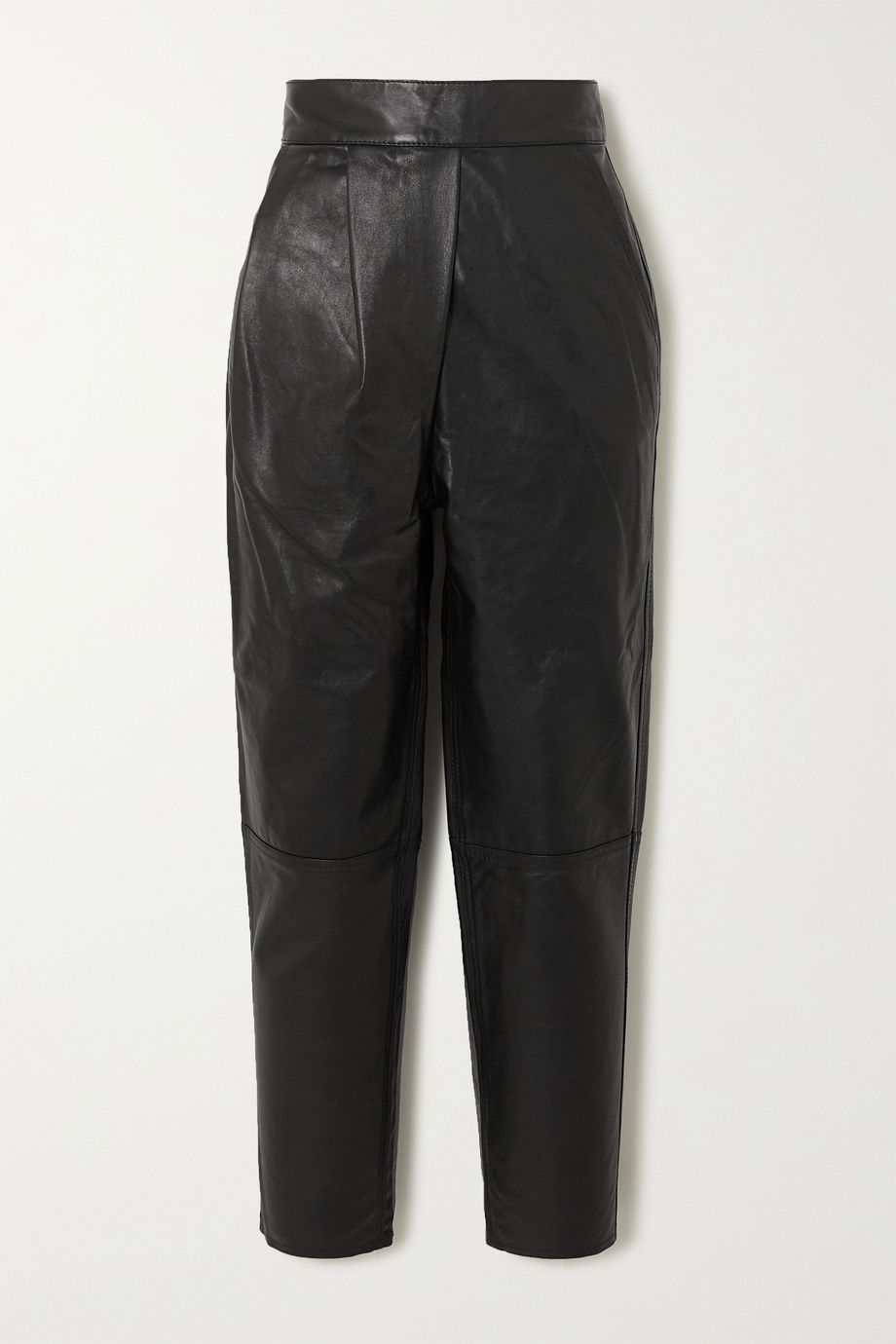 Johanna Ortiz Crossing Legacies leather tapered pants