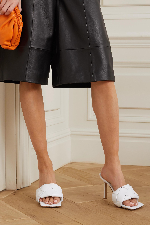Bottega Veneta Mules aus Intrecciato-Leder