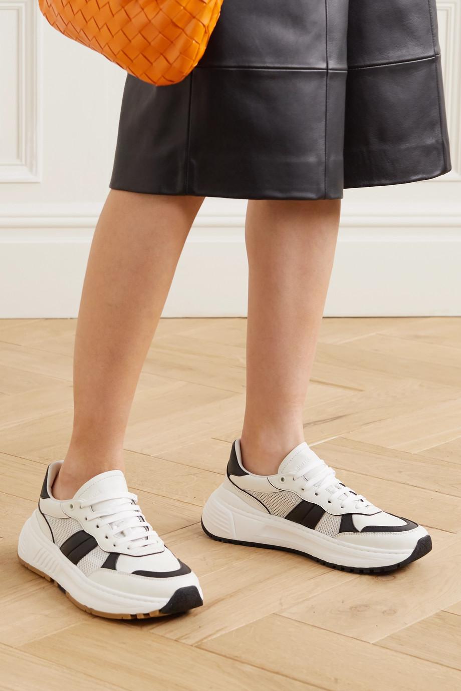 Bottega Veneta Speedster leather and mesh sneakers