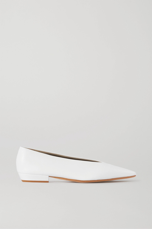 Bottega Veneta 皮革芭蕾平底鞋