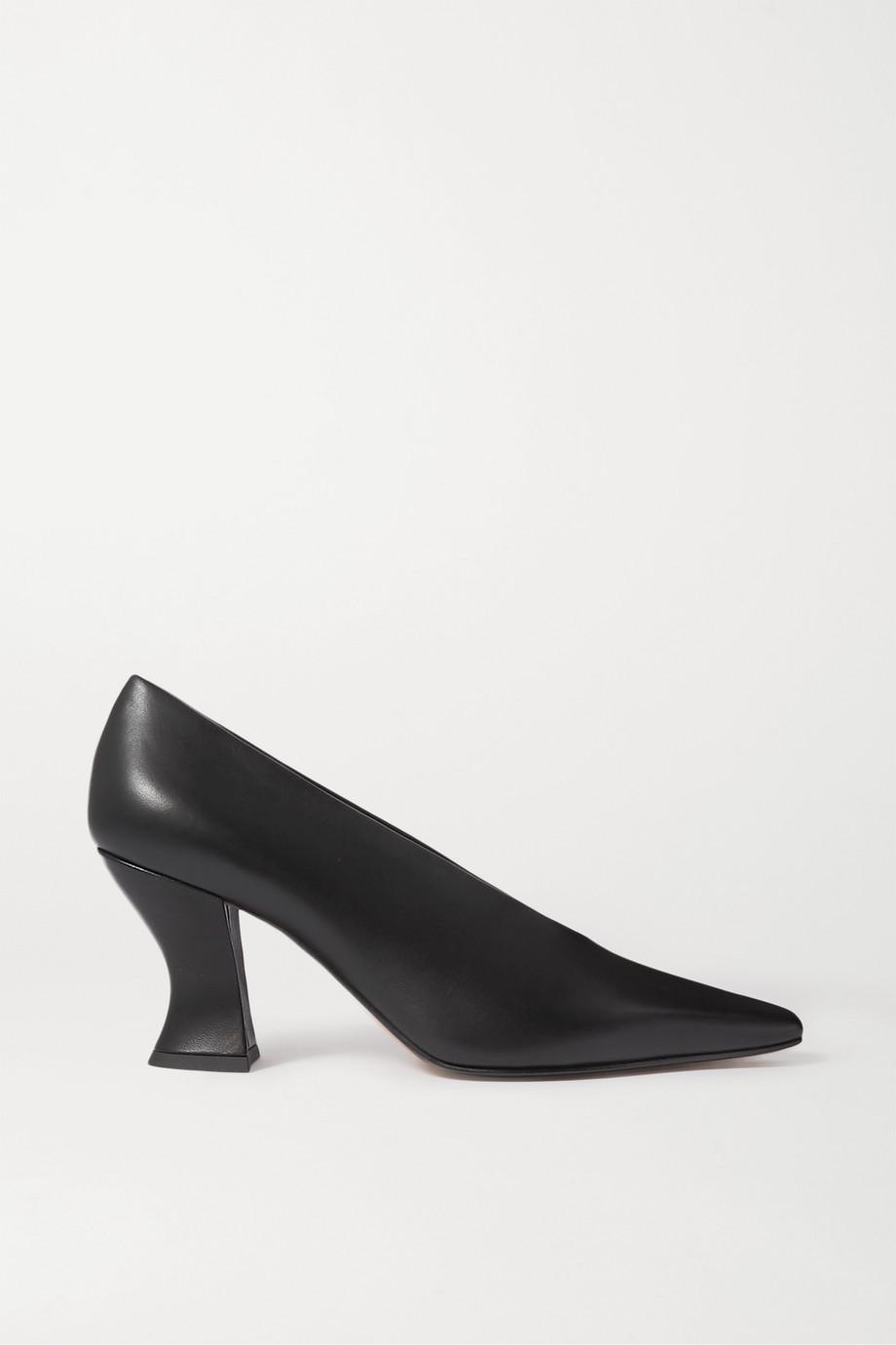 Bottega Veneta Almond 皮革高跟鞋