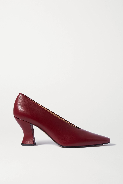 Bottega Veneta Almond leather pumps