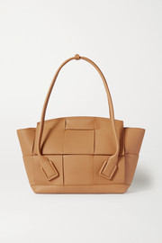 Bottega Veneta Arco medium intrecciato textured-leather tote