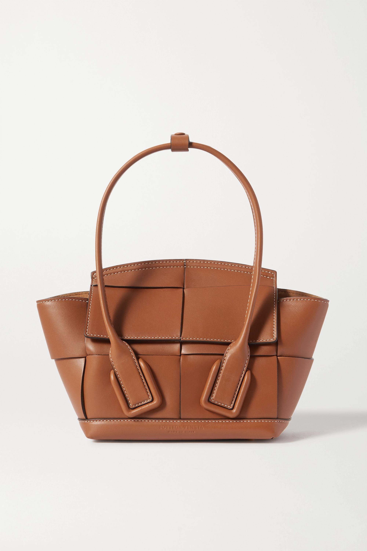 Bottega Veneta Arco mini intrecciato leather tote