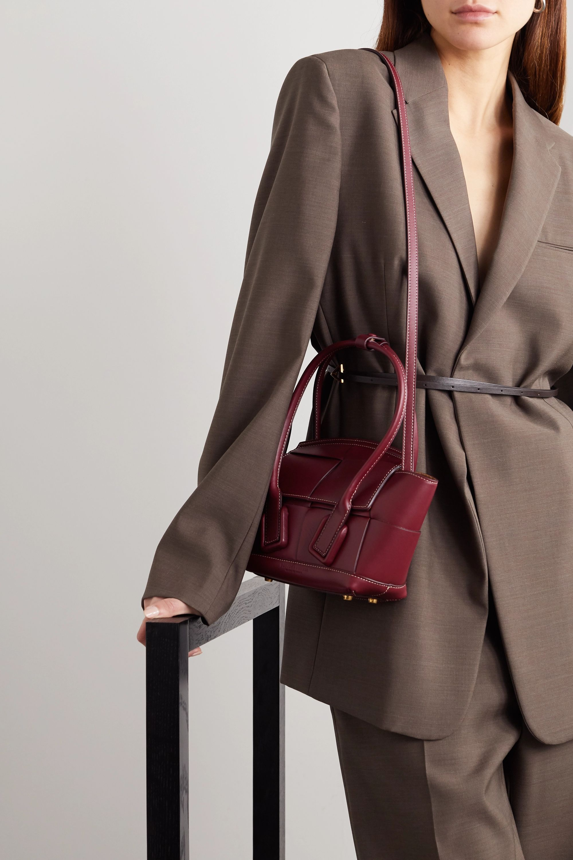 Bottega Veneta Arco mini Tote aus Intrecciato-Leder