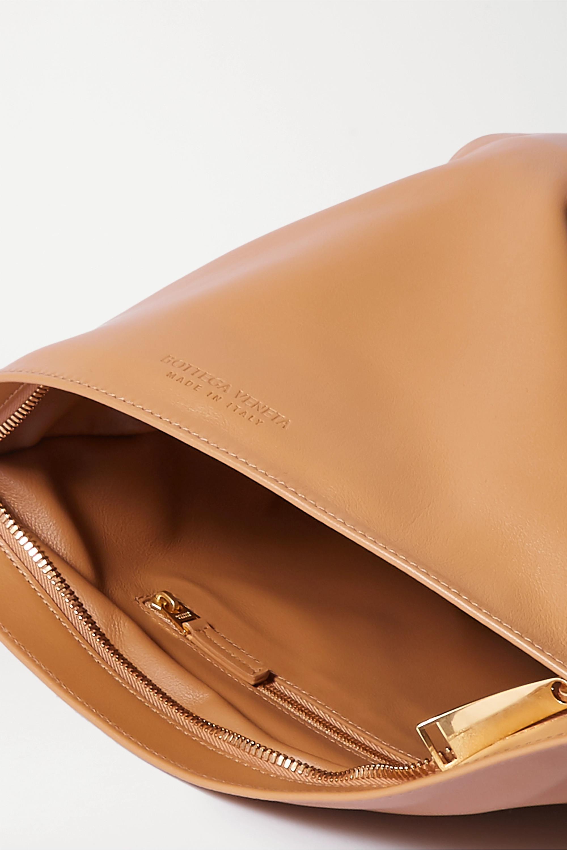 Bottega Veneta BV Twist knotted leather clutch
