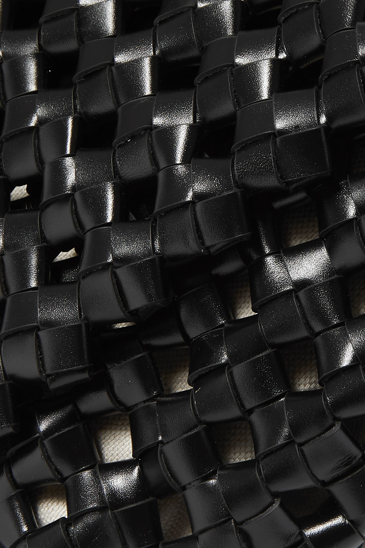 Bottega Veneta BV Window intrecciato leather shoulder bag