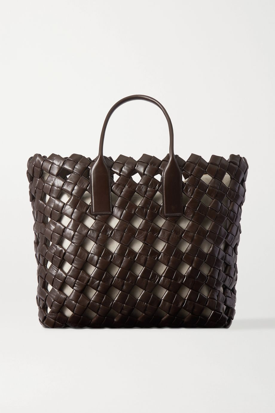 Bottega Veneta Woven leather tote