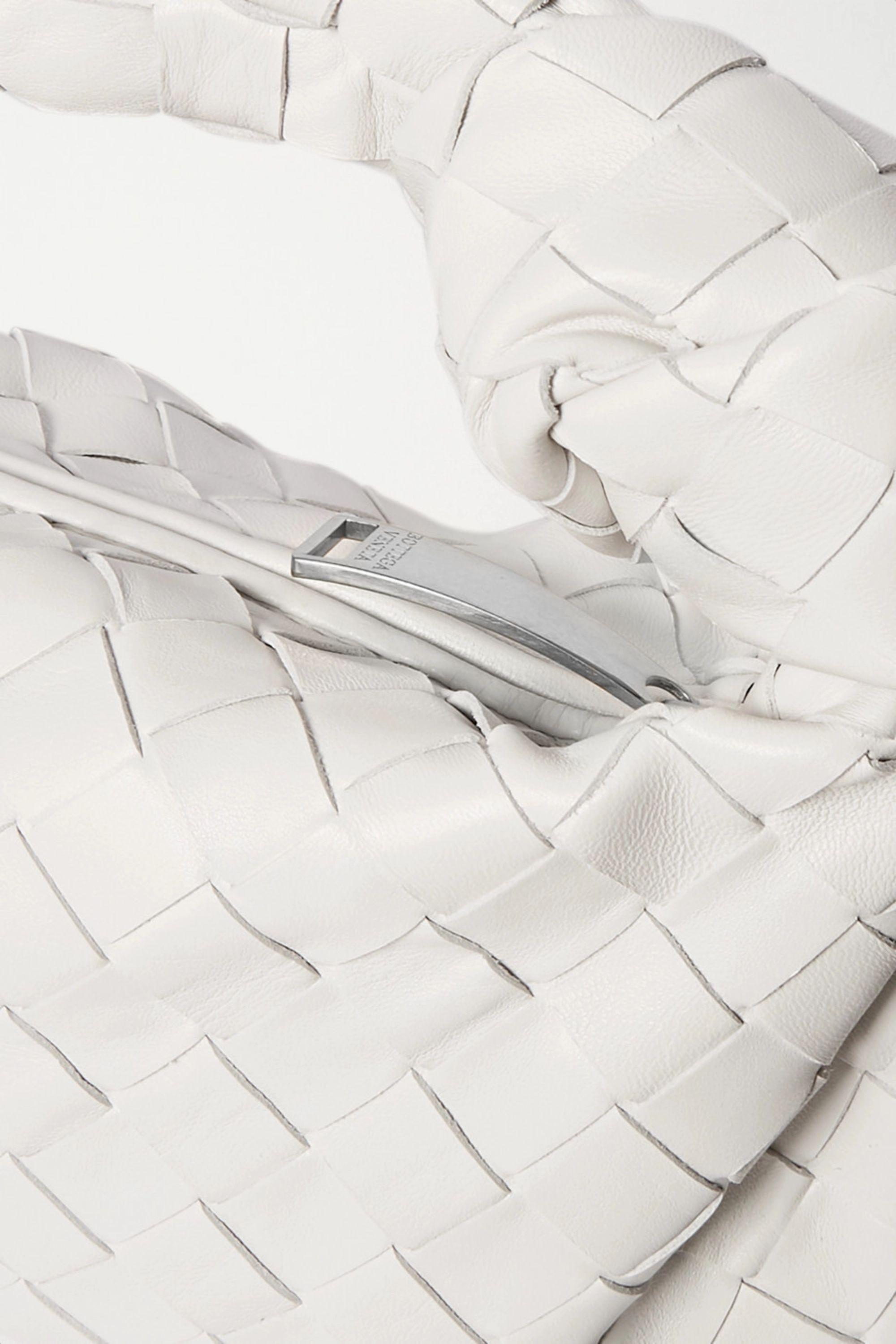 Bottega Veneta Jodie mini knotted intrecciato textured-leather tote