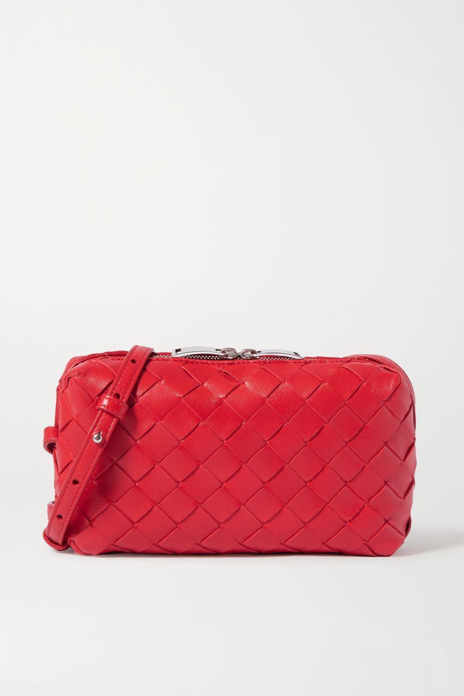 Bottega Veneta Small intrecciato leather shoulder bag