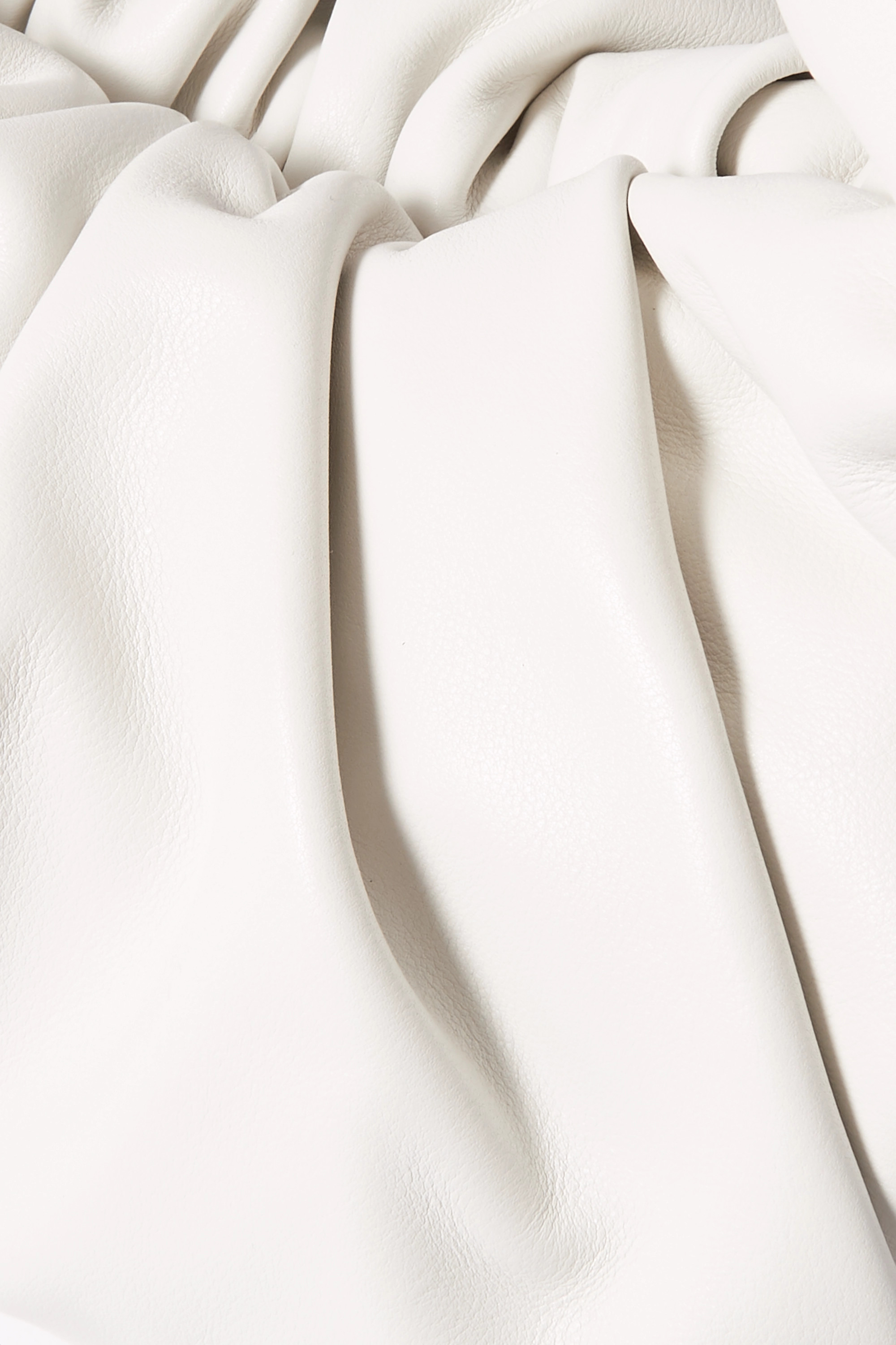 Bottega Veneta The Shoulder Pouch 缩褶皮革手提包