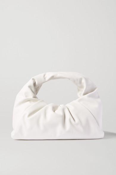 The Shoulder Pouch Gathered Leather Bag by Bottega Veneta
