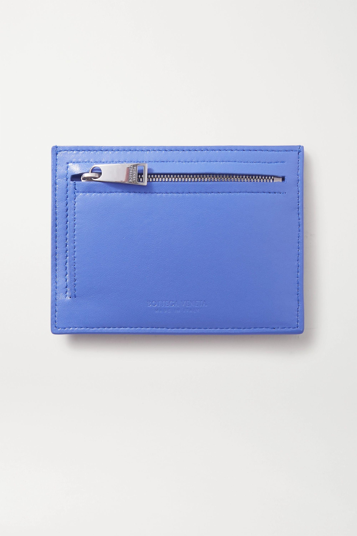 Bottega Veneta Intrecciato leather cardholder