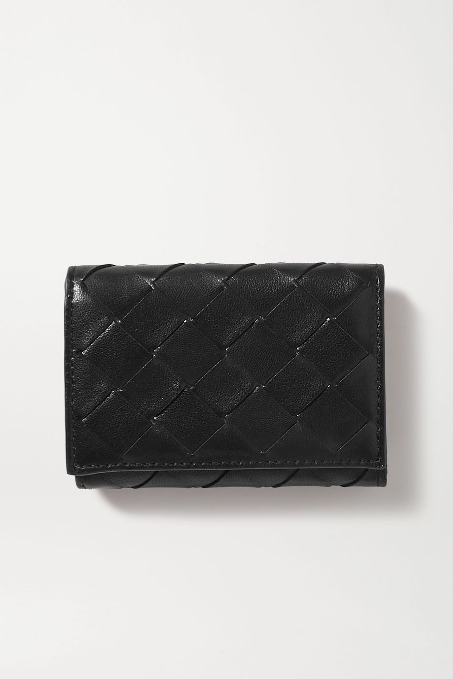 Bottega Veneta Intrecciato textured-leather wallet