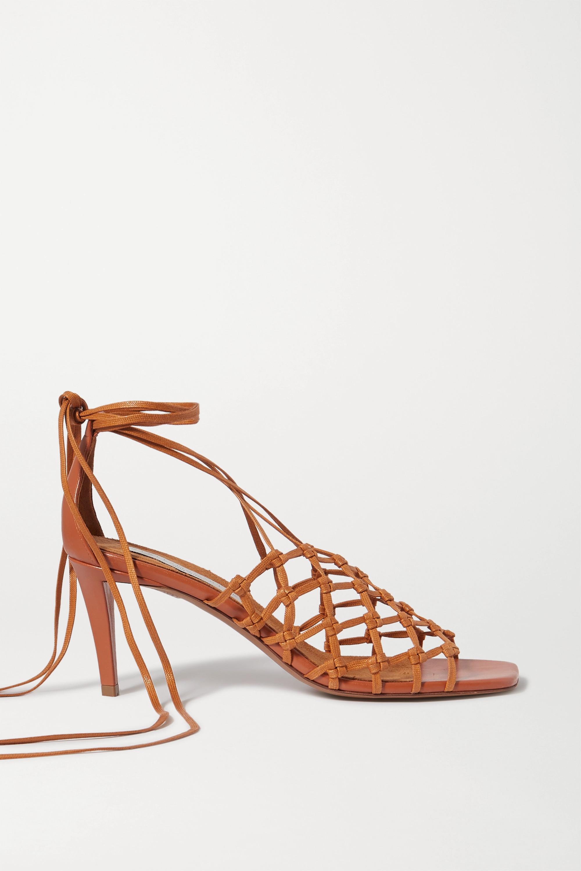 Stella McCartney Vegetarian leather sandals