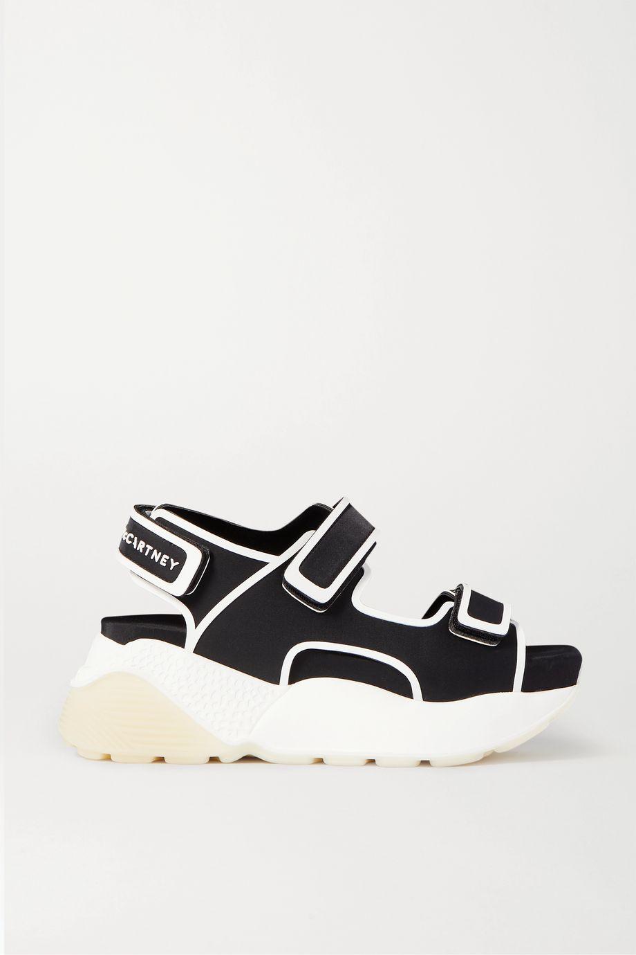 Stella McCartney Logo-print neoprene platform sandals